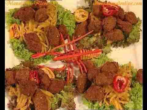 Photo of طريقة عمل سمك بانيه مع البطاطس | منال العالم