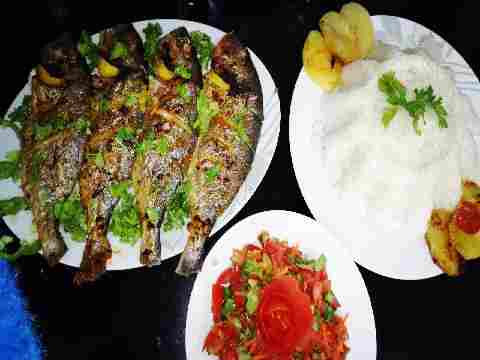 Photo of طريقة السمك الدنيس بالزيت وليمون طعمه تحفه😋اكلاتي من مطبخ نغم🌹