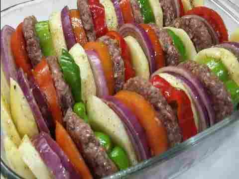Photo of صينية الكفتة بالخضار المتبل بطعم لذيذ جدا(أكلنا بالمصري)